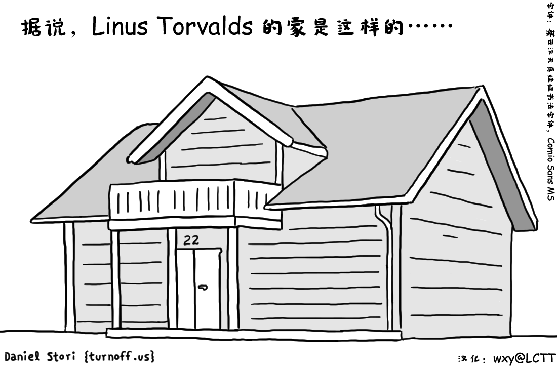 Linus Torvald's House