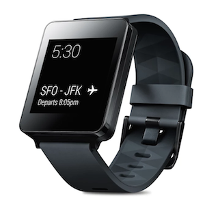 The LG G Watch. One of the first Android Wear devices.