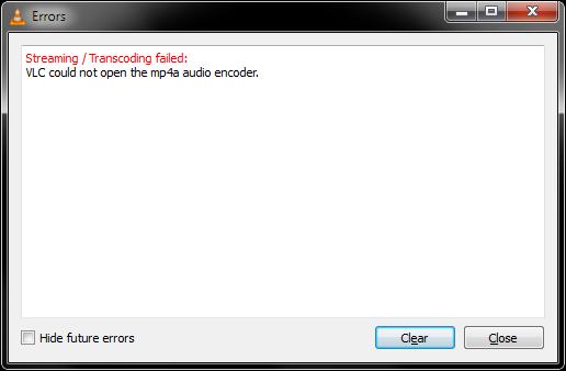 MP4A error