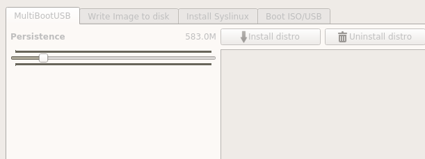 MultiBootUSB persistence storage
