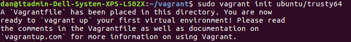 vagrant boxes
