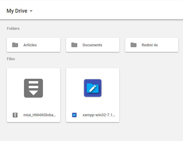 Google Drive savetodrive