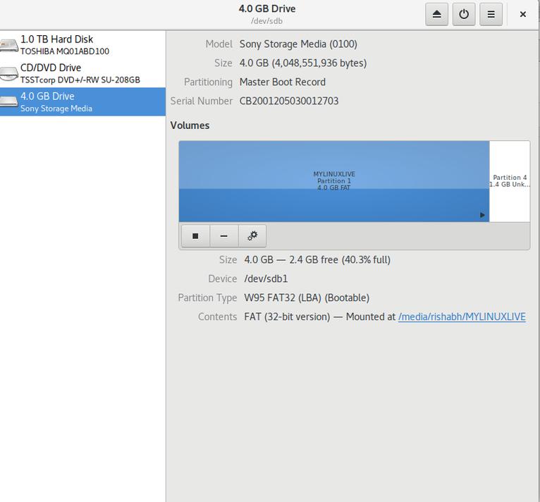 Linux 系统磁盘管理器