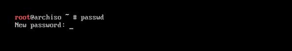 配置系统用户root密码