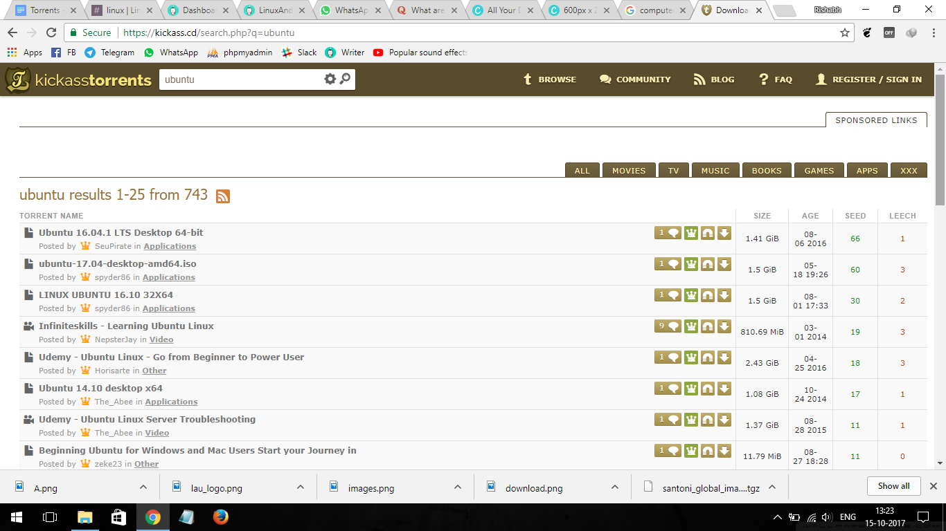 kickass torrents website