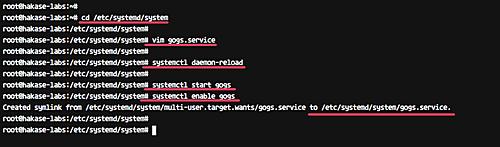 运行 Gogs 服务器