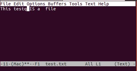 在 emacs 中打开文件