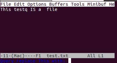 使用 emacs 替换单词