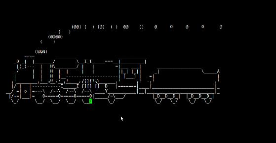 Linux / UNIX 桌面乐趣: 蒸汽机车
