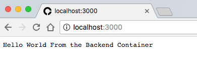 backend sample output