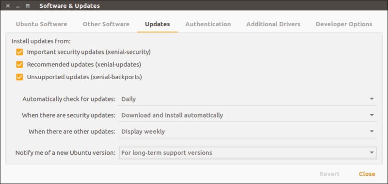 Ubuntu 18.04 upgrade from Ubuntu 16.04
