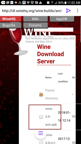 wine-android-download-button