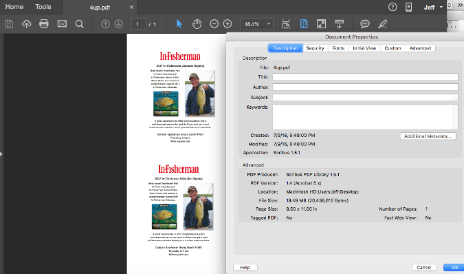 Huge PDF file
