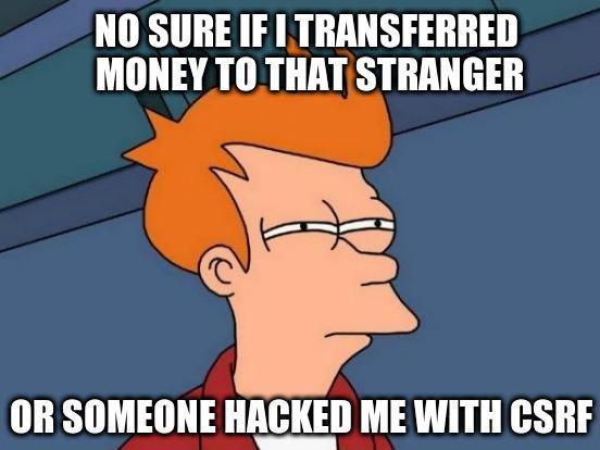 csrf hacking bank account