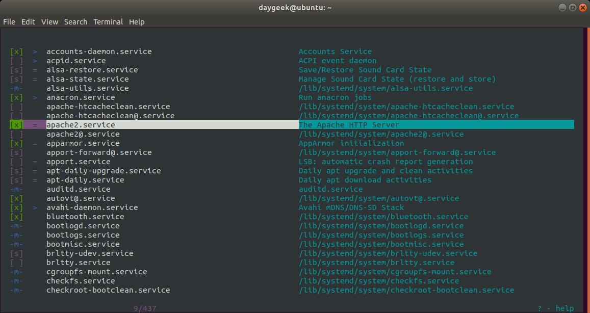 技术|如何查看Linux 中所有正在运行的服务