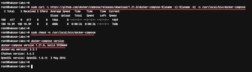 安装 Docker-compose
