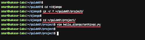 配置 Django 项目