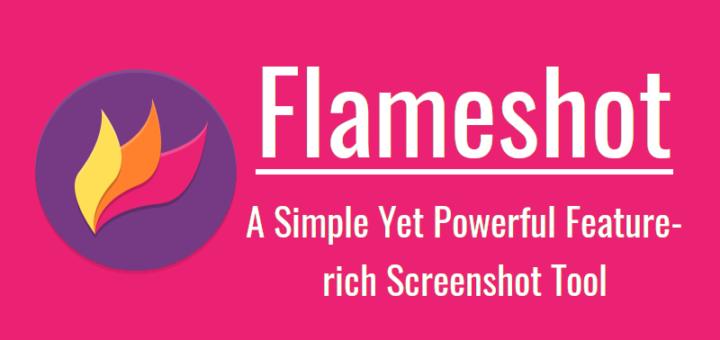 Flameshot:一个简洁但功能丰富的截图工具