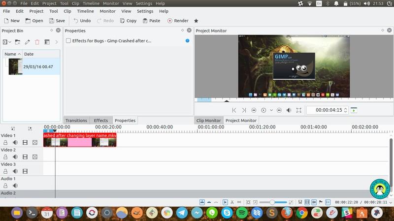 Kdenlive - Ubuntu 上的免费视频编辑器
