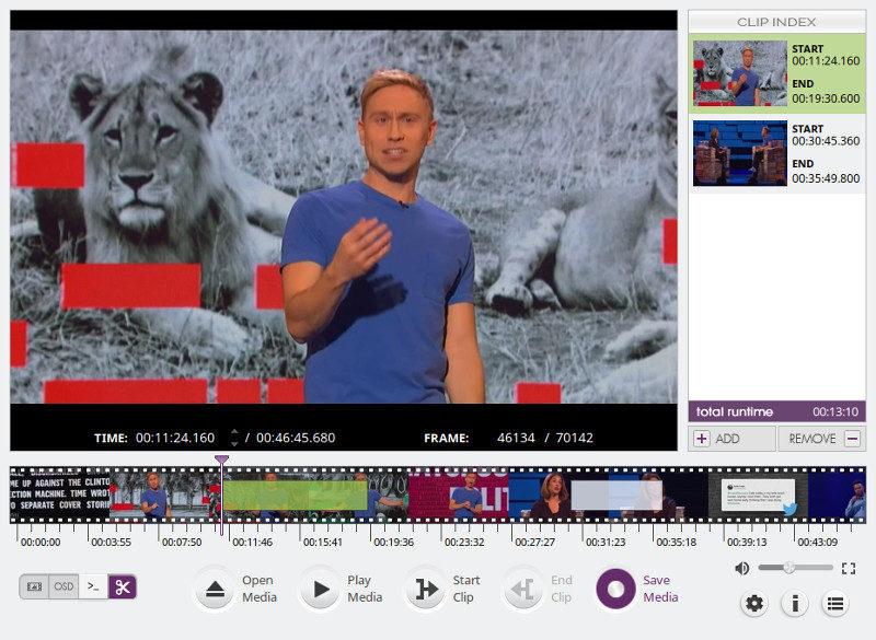 VidCutter Linux 上的视频编辑器