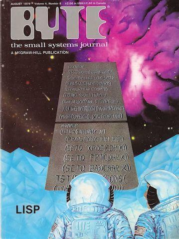 Byte 杂志封面,1979年八月。