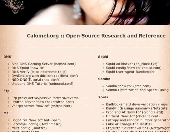 开源研究和参考文档