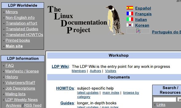 Linux 学习网站和文档