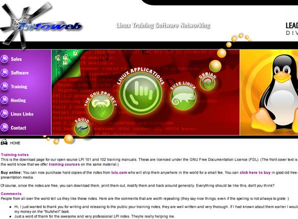 Linux 国际专业协会认证书籍