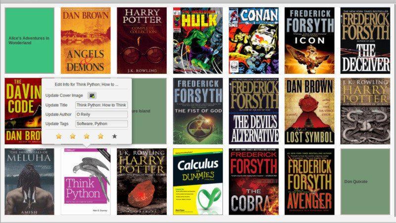 Bookworm Linux 电子阅读器