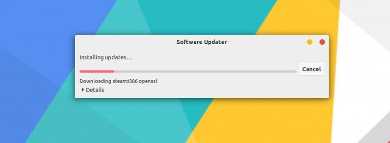 通过 GUI 更新 Ubuntu