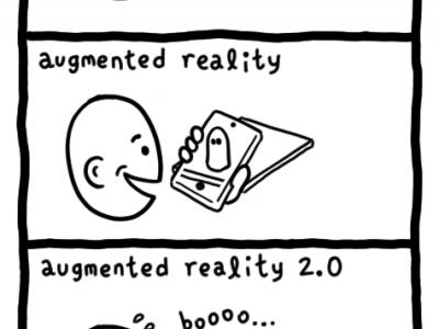 极客漫画:增强现实(AR) 2.0
