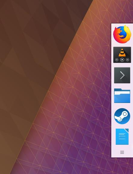 KDE Plasma Dock