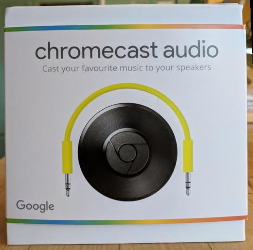 Google Chromecast 音频
