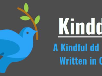 Kindd:一个图形化 dd 命令前端