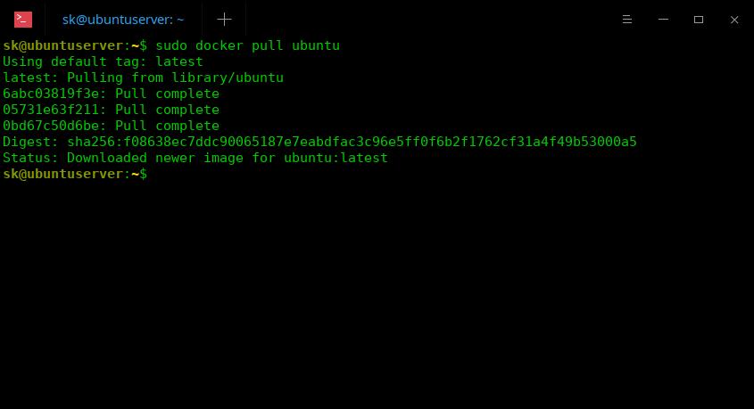 下载 Docker 镜像