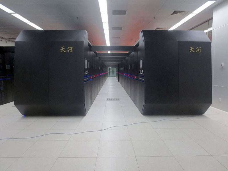 Tianhe-2 Supercomputer. Photo by O01326 �C Own work, CC BY-SA 4.0, https://commons.wikimedia.org/w/index.php?curid=45399546