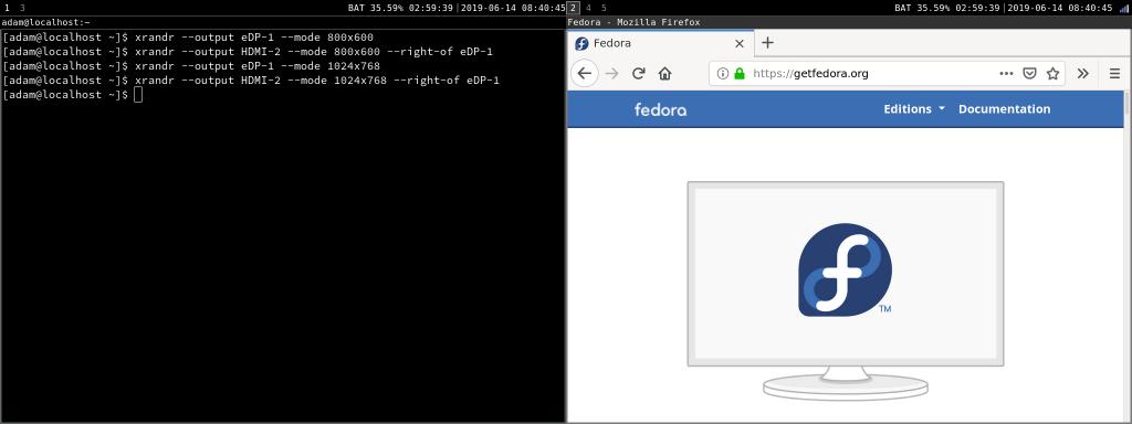 打开火狐浏览器的工作空间 2 移动到第二个屏幕