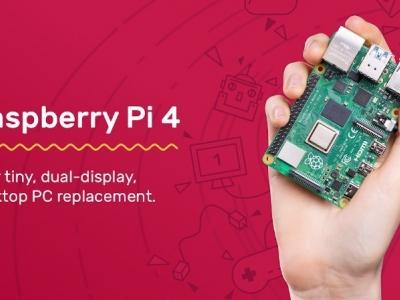 升级配置后,树莓派 4 瞄准了桌面市场