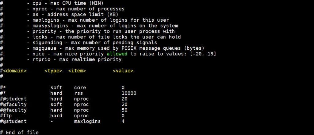 Limits-conf-linux-part2