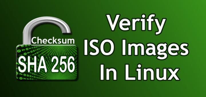 如何在 Linux 中校验 ISO 镜像