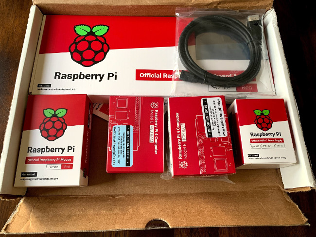 CanaKit's Raspberry Pi 4 Starter Kit and official accessories