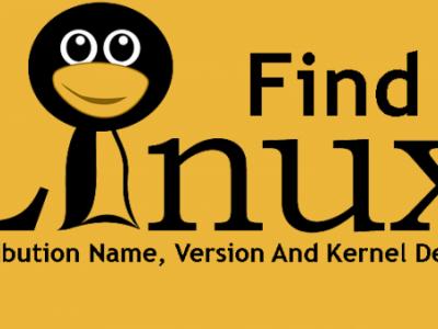 查找 Linux 发行版名称、版本和内核详细信息