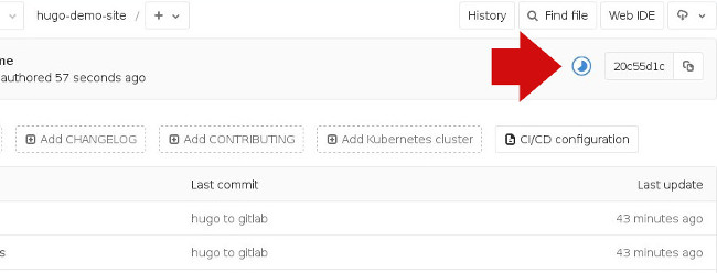 GitLab processing your build