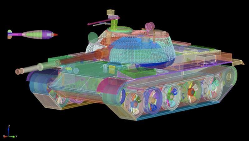 BRL-CAD rendering by Sean