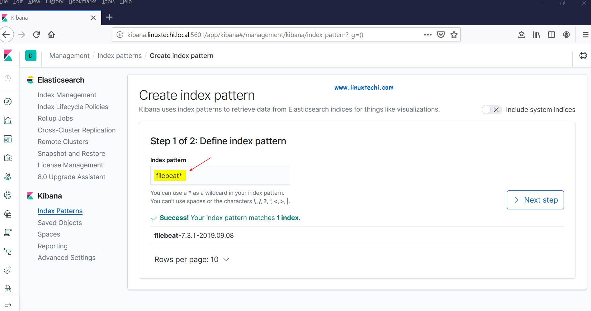 Define-Index-Pattern-Kibana-RHEL8