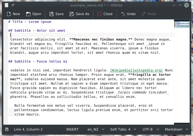 Hyperlinks in Markdown