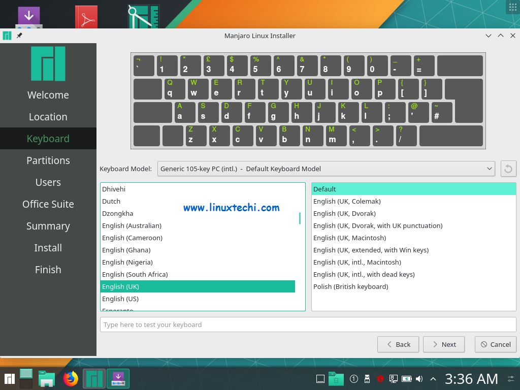 Select-Keyboard-Layout-Manjaro18-1-kde-installation