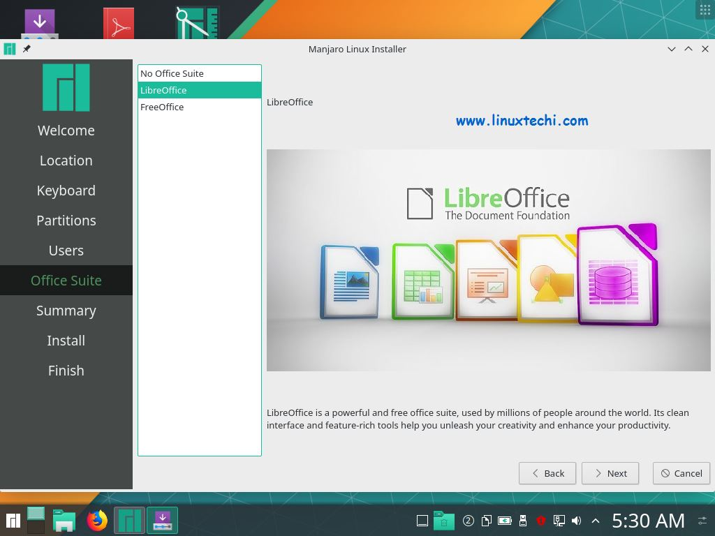 Office-Suite-Selection-Manjaro18-1