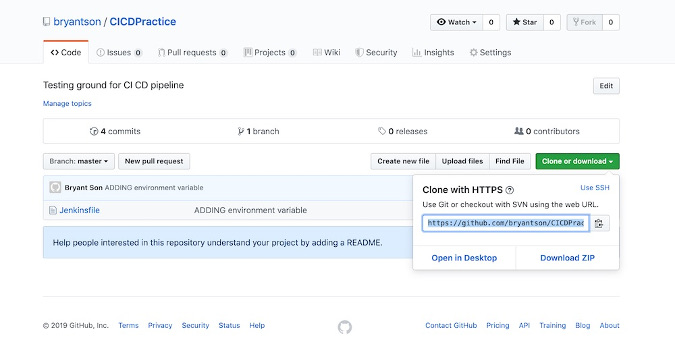 Checkout from GitHub