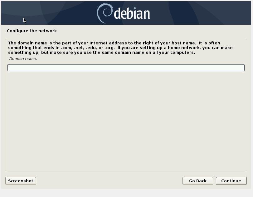 设置域名-Debian10